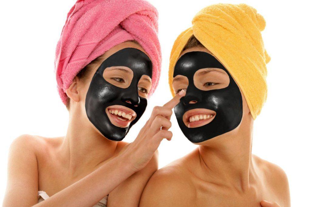 Эффект от желатиновой маски с углем