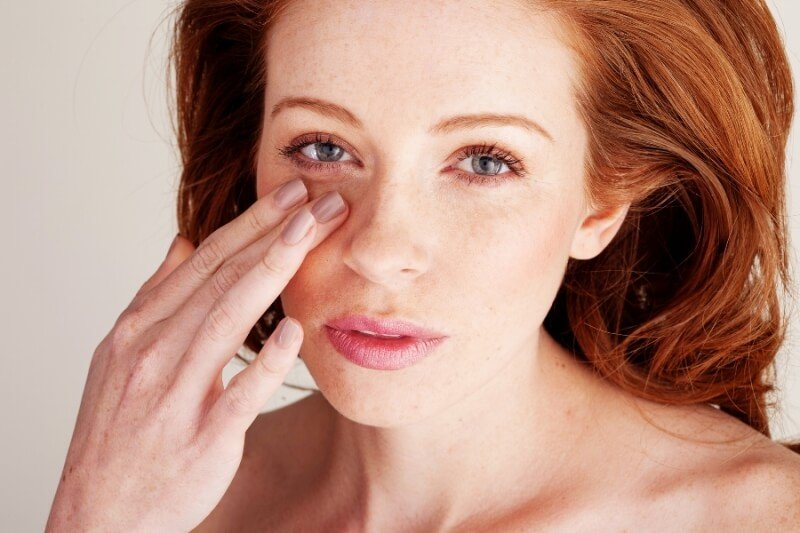 Раздражение кожных покровов глазной области