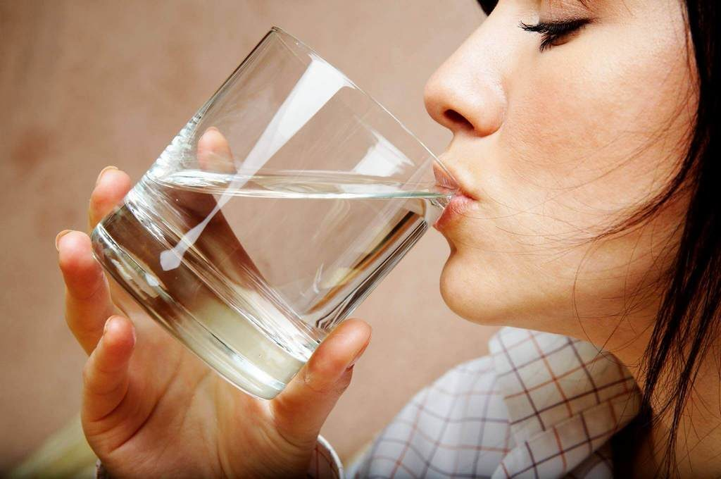 Необходимо пить больше жидкости
