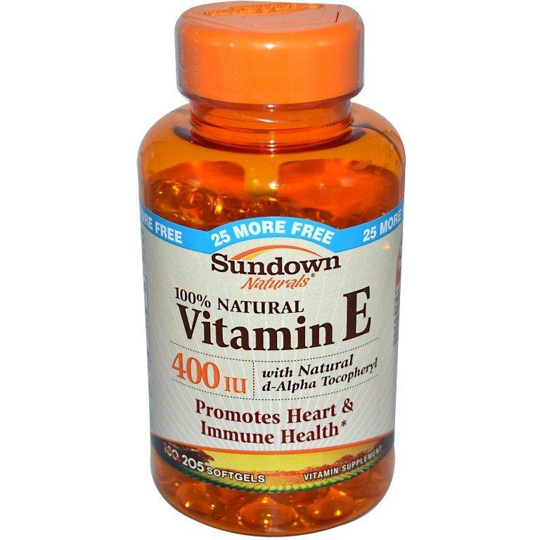 Витамин Е против прыщей