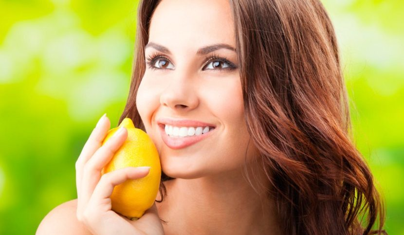 Kak otbelit' lico limonnym sokom -7