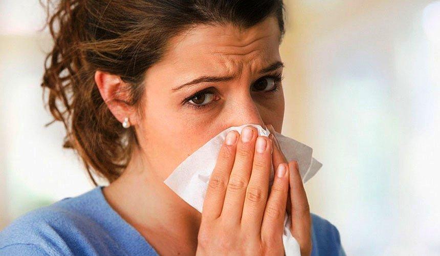 Прищи на лице после простуды