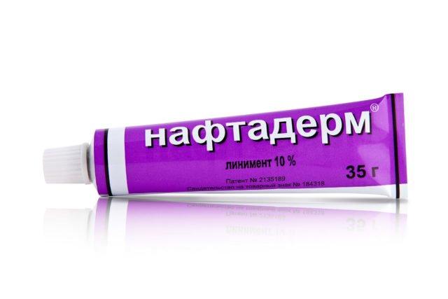 Для сухого типа высыпаний неплохим вариантом лечения станут противогрибковые мази