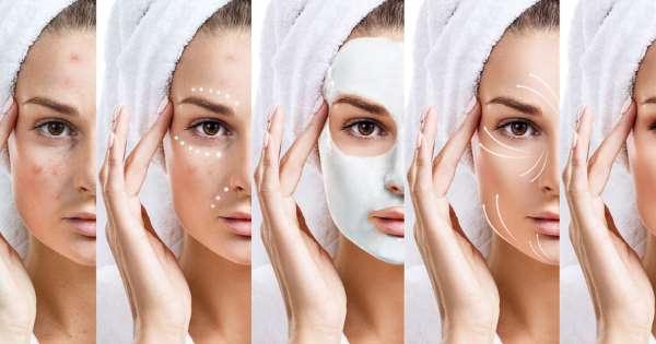 методика нанесения маски на лицо