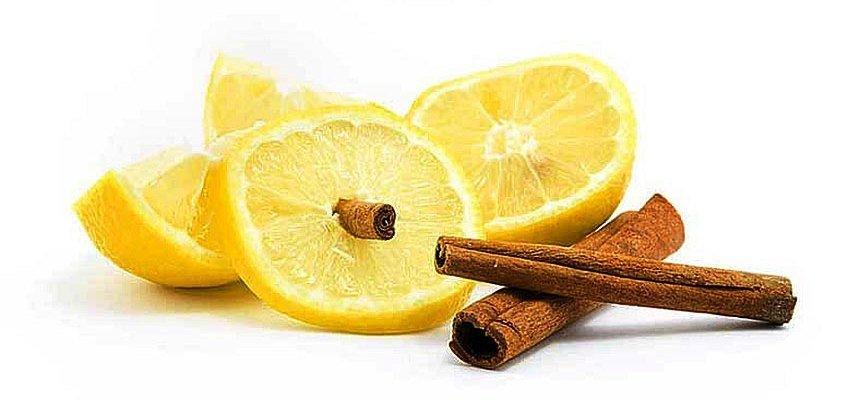 Маска из корицы с лимоном