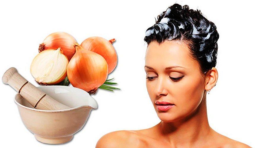 Лук для укрепления и лечения волос
