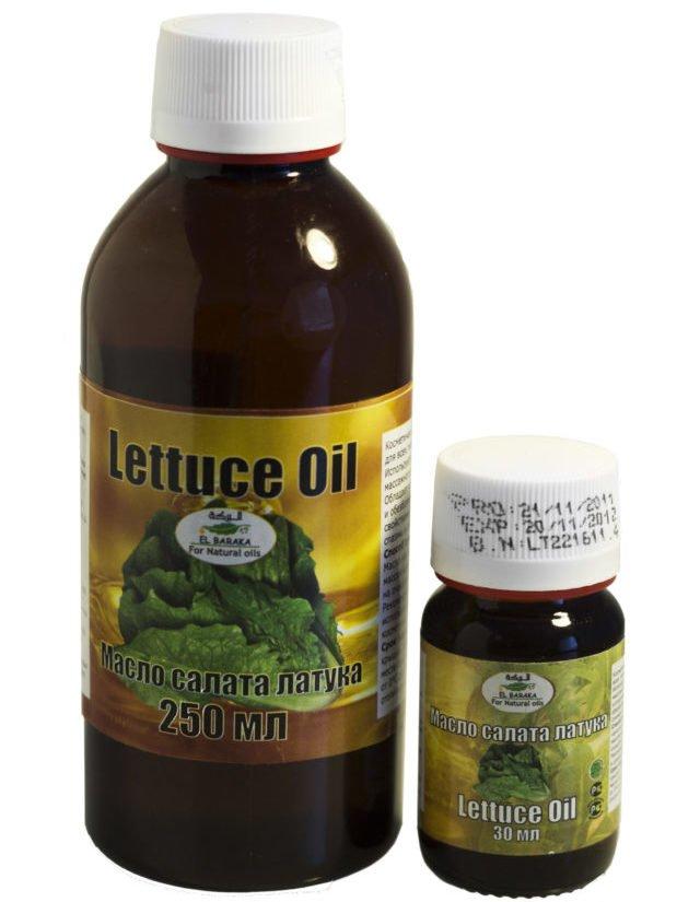 масло салата латук