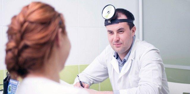 На приеме врача
