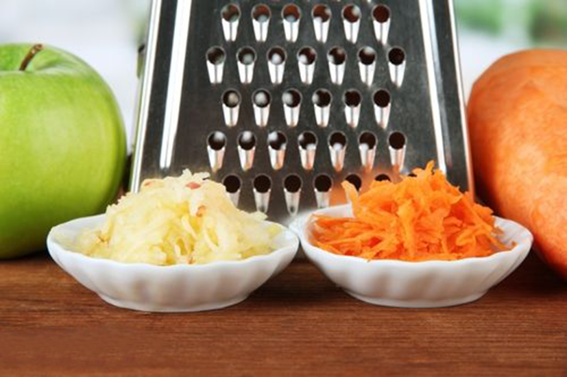 яблочко и морковка