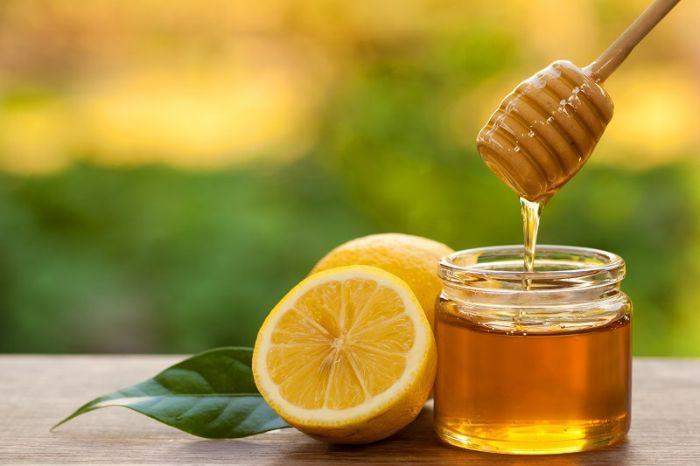 мед с лимоном для омолаживающей маски