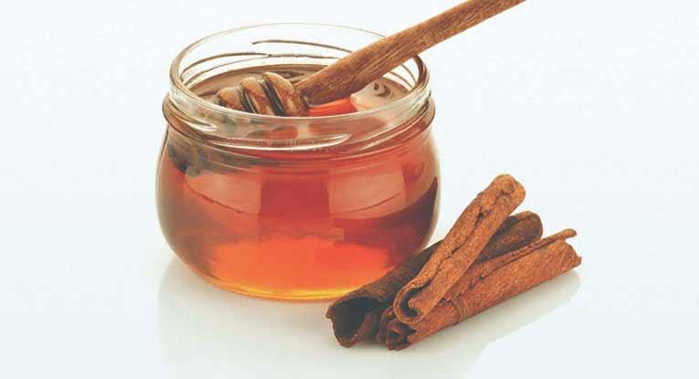 Мёд и корица для маски