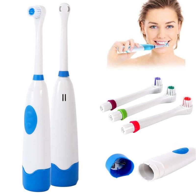 Плюсы электрической зубной щетки