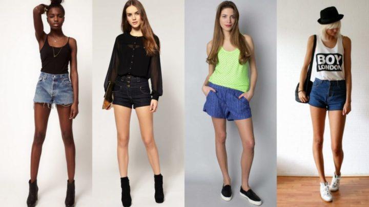 Женские шорты: как выбрать и с чем носить?