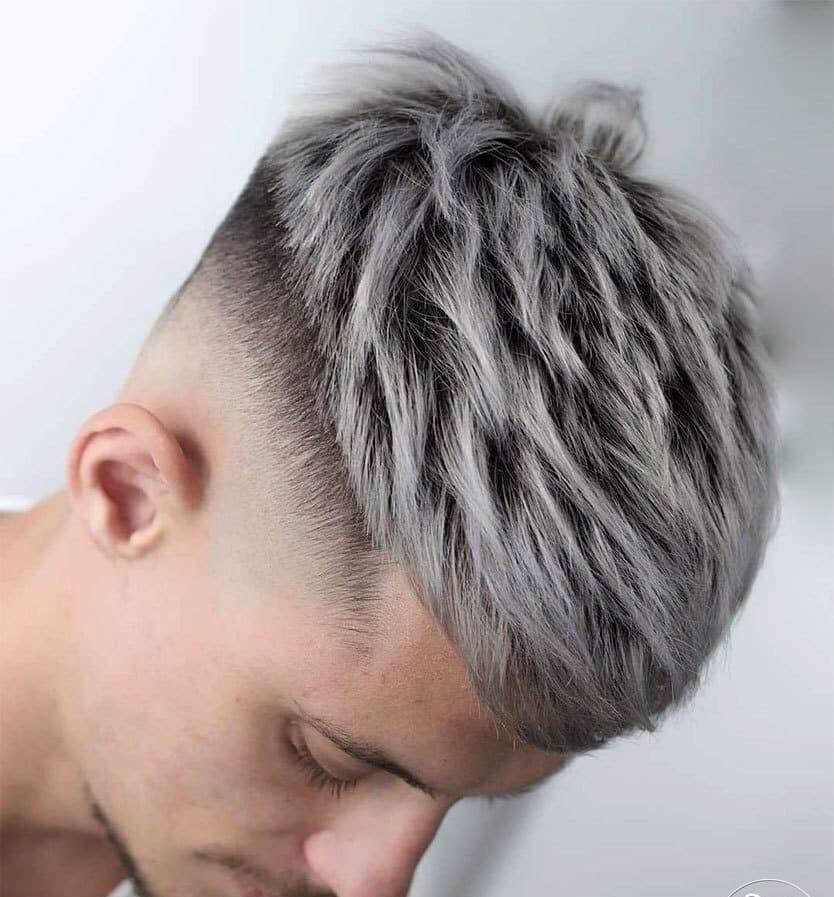Мужской камуфляж седины — стильное мужское окрашивание волос