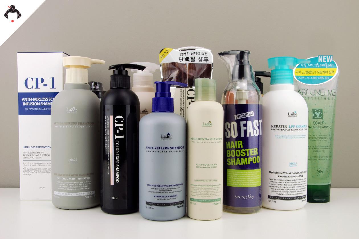 Выбор корейского шампуня для волос: особенности